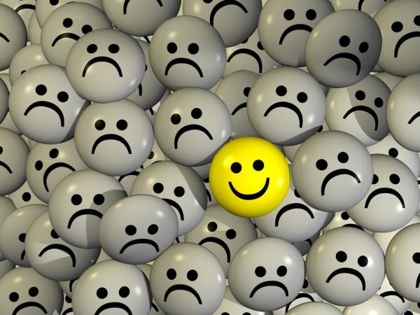 как стать позитивным в негативе